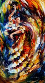 __Passionate_Flamnco___oil_by_Leonidafremov